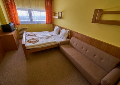 Ubytování na Benecku v Krkonoších - Horský hotel Kubát - pokoje